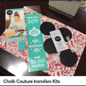 Chalk Couture Transfer's Kits